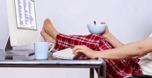 non lavorare in pigiama per lavorare da casa seriamente